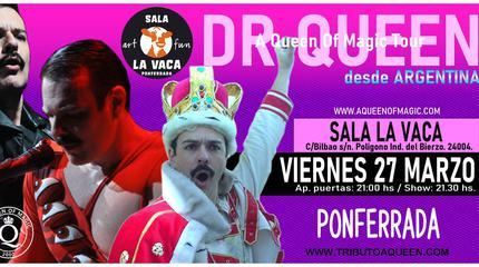 Concierto de DR. QUEEN en Ponferrada - A Queen of Magic Tour
