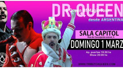 Concierto de DR. QUEEN en Santiago de Compostela- A Queen of Magic Tour