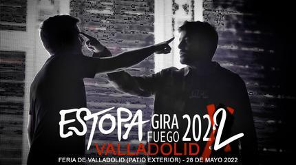 Concierto de Estopa en Valladolid GIRA FUEGO