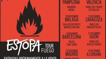 Concierto de Estopa en Zaragoza
