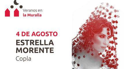 Concierto de Estrella Morente en Veranos en la Muralla, Ávila.