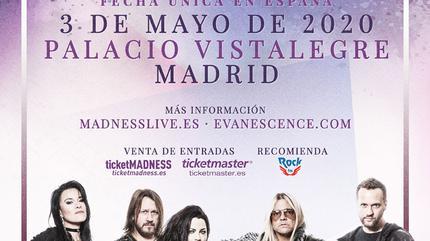 Evanescence concert à Madrid