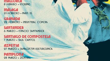 Konzert von Fuel Fandango in Pamplona