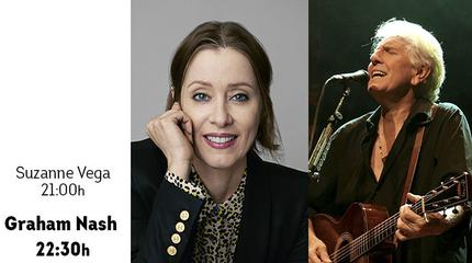 Concierto de Graham Nash + Suzanne Vega en Porta Ferrada 2020