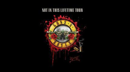 Guns N Roses concert in Seville