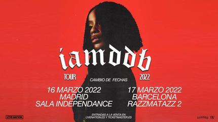 Concierto de IAMDDB en Barcelona