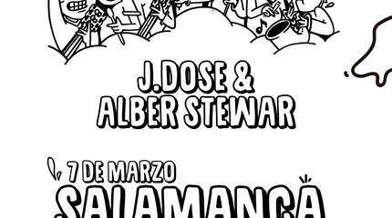 Concierto de J Dose & Alber Stewar en Salamanca