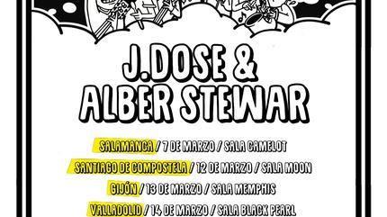 Concierto de J Dose & Alber Stewar en Valencia