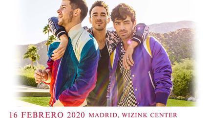 Concierto de Jonas Brothers en Madrid