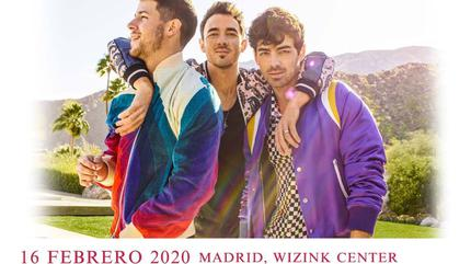 Jonas Brothers concert in Madrid