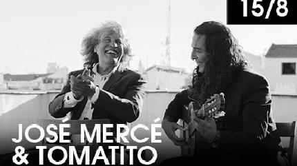 Concierto de José Mercé y Tomatito en Starlite Festival 2019