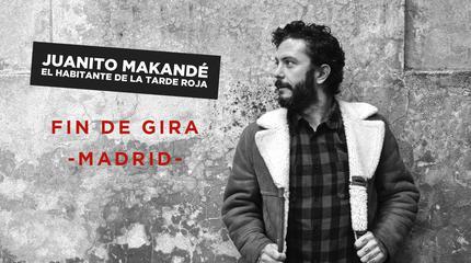 Concierto de Juanito Makandé en Madrid - Fin de Gira
