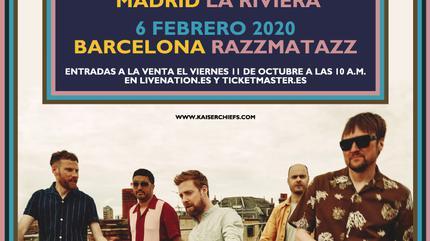 Kaiser Chiefs concert in Barcelona