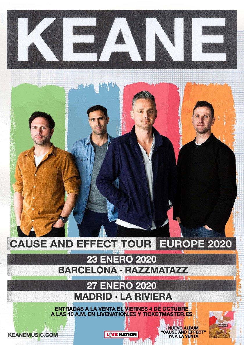 Keane concert in Barcelona