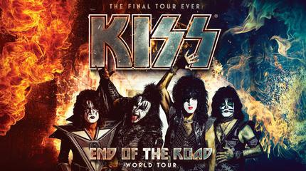 Kiss concert in Madrid