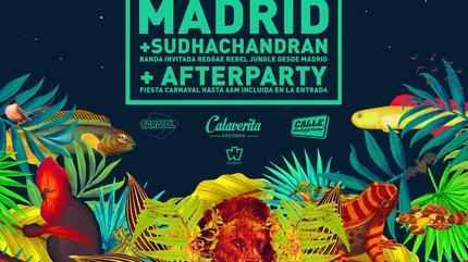 La Ganga Calé + Sudhachandran concert in Madrid