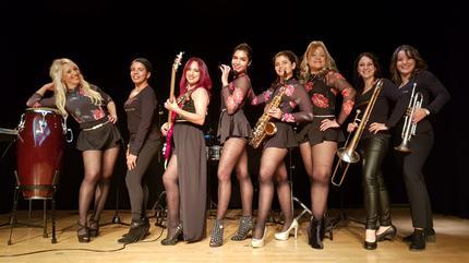 Concierto de Ladies Moon Orquesta Tropical Femenina en Sala Galileo - Madrid