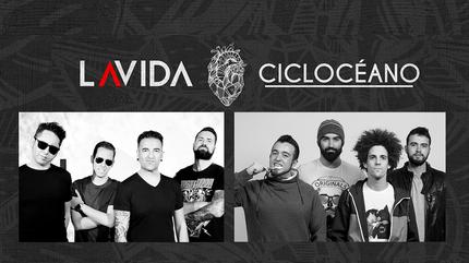 CICLOCÉANO + LAVIDA concert in Madrid