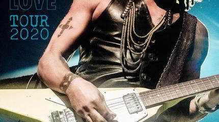 Lenny Kravitz concert à La Corogne