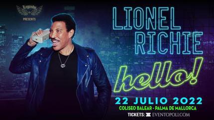 Concierto de Lionel Richie en Palma de Mallorca   Hello Tour!
