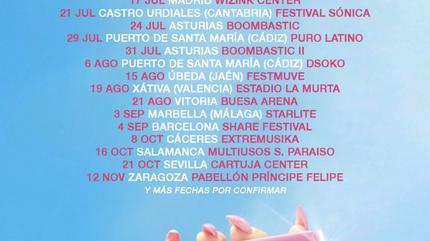 Concierto de Lola Indigo en Zaragoza