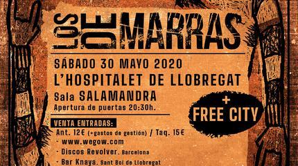 Concierto de Los De Marras en Sala Salamandra -(Barcelona)