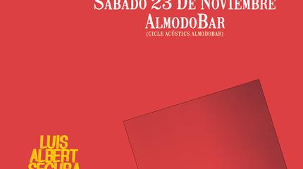 Concierto de Luis Albert Segura en Barcelona