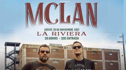 Concierto de M CLAN en Madrid