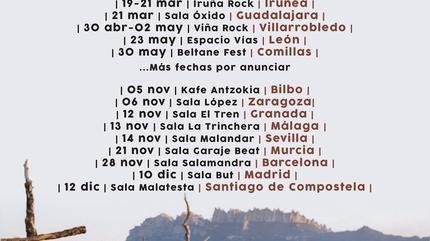 Concierto de Mafalda en Santiago de Compostela