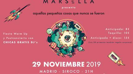 Concierto de Marsella en Madrid