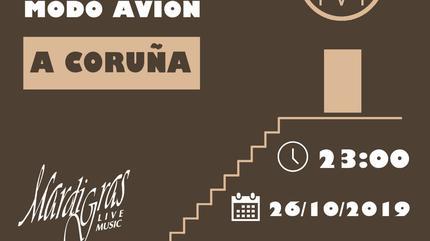 Concierto de Modo Avión Coruña