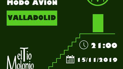 Concierto de Modo Avión en Valladolid