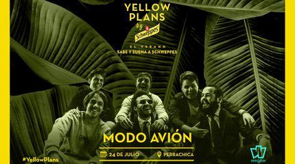 Concierto de Modo Avión en Yellow Plans by Schweppes 2019