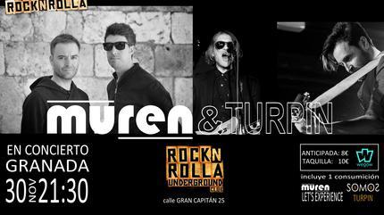 Concierto de MUREN y TURPIN en Granada