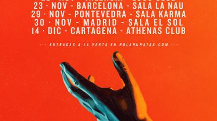 Concierto de Nunatak en Madrid