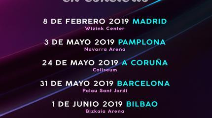 Concierto de Operación Triunfo en Gijón Life 2019