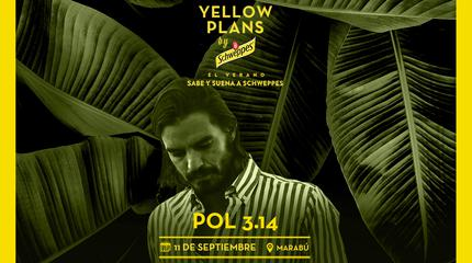 Concierto de Pol 3.14 en Yellow Plans by Schweppes 2019