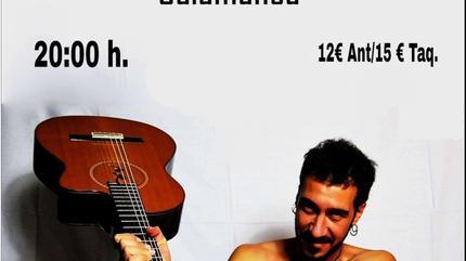 Concierto de Poncho K en Salamanca
