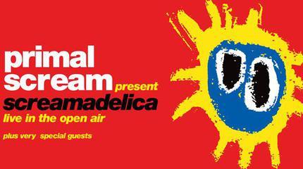 Primal Scream concert in Glasgow