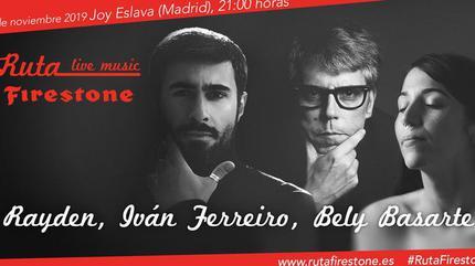 Bely Basarte + Iván Ferreiro + Rayden concert in Madrid