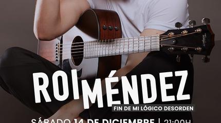 Concierto de Roi Méndez en Madrid