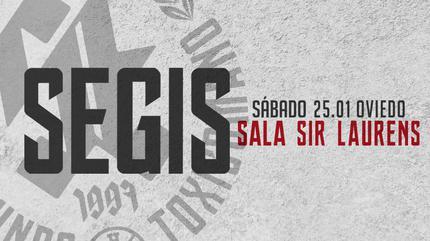 Concierto de Segis en Oviedo