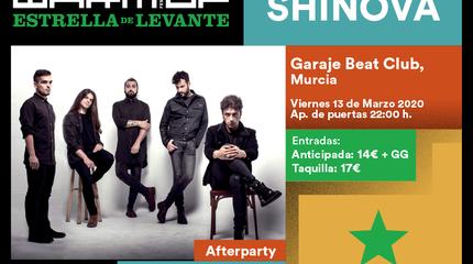 Shinova concerto em Murcia
