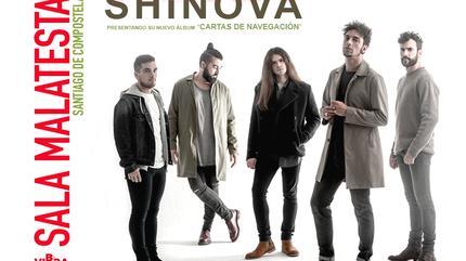 Shinova concert in Santiago de Compostela