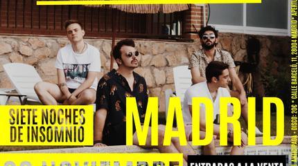 Concierto de Siete de Picas en Madrid