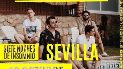 Concierto de Siete de Picas en Sevilla