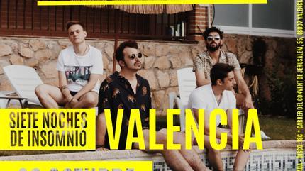 Concierto de Siete de Picas en Valencia