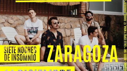 Concierto de Siete de Picas en Zaragoza