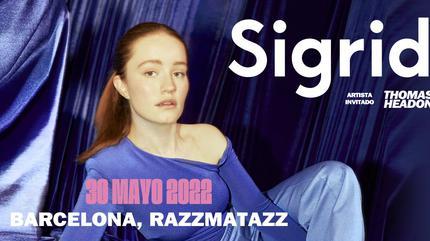 Concierto de Sigrid en Barcelona