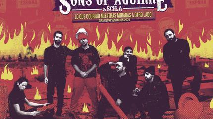 Konzert von Sons Of Aguirre & Scila in Zaragoza